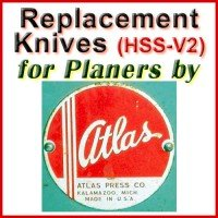 Replacement Blades (HSS) for Planers by Atlas Press