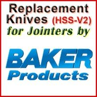 Replacement HSS-V2 Knives for Jointers by Baker