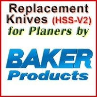 Replacement Blades (HSS) for Planers by Baker