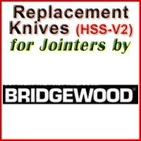 Replacement HSS-V2 Knives for Jointers by Bridgewood