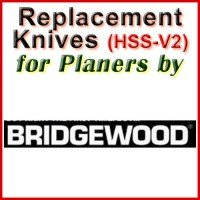 Replacement Blades (HSS) for Planers by Bridgewood