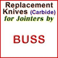 Replacement Carbide Knives for Jointers by Buss