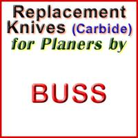 Replacement Carbide Knives for Planers by Buss