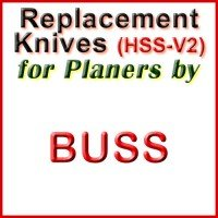 Replacement Blades (HSS) for Planers by Buss