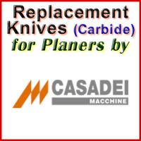 Replacement Blades (Carbide) for Planers by Casadei