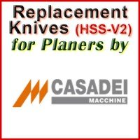 Replacement Blades (HSS) for Planers by Casadei
