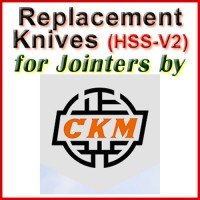 Replacement Blades (HSS) for Jointers by CKM