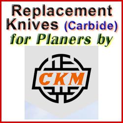 Replacement Blades (Carbide) for Planers by CKM