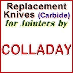 Replacement Blades (Carbide) for Jointers by Colladay