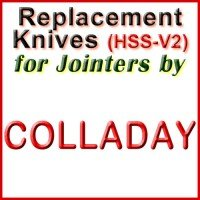 Replacement HSS-V2 Knives for Jointers by Colladay