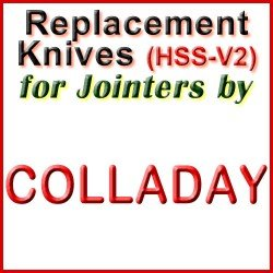 Replacement Blades (HSS) for Jointers by Colladay