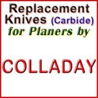 Replacement Blades (Carbide) for Planers by Colladay