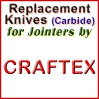 Replacement Carbide Knives for Jointers by Craftex