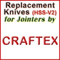 Replacement Blades (HSS) for Jointers by Craftex