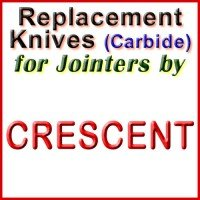 Replacement Carbide Knives for Jointers by Crescent