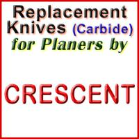 Replacement Blades (Carbide) for Planers by Crescent