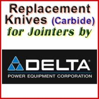 Replacement Blades (Carbide) for Jointers by Delta