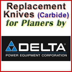 Replacement Blades (Carbide) for Planers by Delta