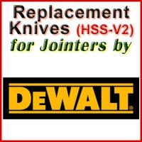 Replacement Blades (HSS) for Jointers by DeWalt