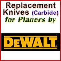 Replacement Blades (Carbide) for Planers by DeWalt