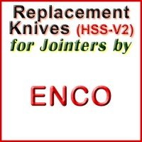 Replacement Blades (HSS) for Jointers by Enco