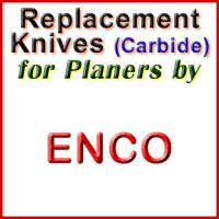 Replacement Carbide Knives for Planers by Enco