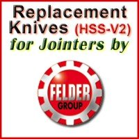 Replacement Blades (HSS) for Jointers by Felder