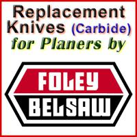 Replacement Blades (Carbide) for Planers by Foley-Belsaw