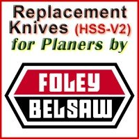 Replacement Blades (HSS) for Planers by Foley-Belsaw