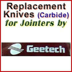 Replacement Blades (Carbide) for Jointers by Gee-Tech