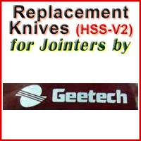 Replacement Blades (HSS) for Jointers by Gee-Tech