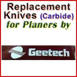 Replacement Blades (Carbide) for Planers by Gee-Tech