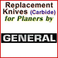 Replacement Blades (Carbide) for Planers by General