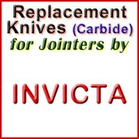 Replacement Carbide Knives for Jointers by Invicta