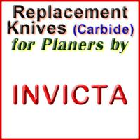 Replacement Carbide Knives for Planers by Invicta