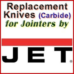 Replacement Blades (Carbide) for Jointers by Jet