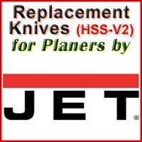 Replacement Blades (HSS) for Planers by Jet