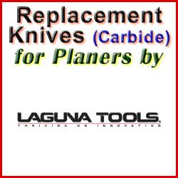 Replacement Blades (Carbide) for Planers by Laguna