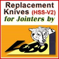 Replacement Blades (HSS) for Jointers by Lobo