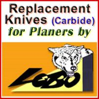 Replacement Blades (Carbide) for Planers by Lobo