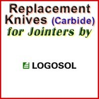 Replacement Carbide Knives for Jointers by Logosol