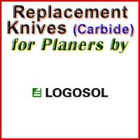 Replacement Carbide Knives for Planers by Logosol