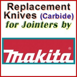 Replacement Blades (Carbide) for Jointers by Makita