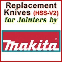 Replacement Blades (HSS) for Jointers by Makita