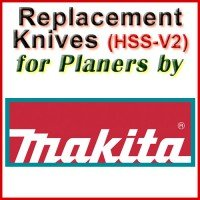 Replacement Blades (HSS) for Planers by Makita