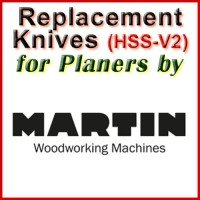 Replacement Blades (HSS) for Planers by Martin