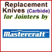 Replacement Blades (Carbide) for Jointers by Mastercraft