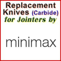 Replacement Carbide Knives for Jointers by MiniMax