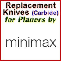 Replacement Blades (Carbide) for Planers by MiniMax