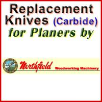 Replacement Carbide Knives for Planers by Northfield